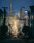 The Glow Of San Francisco mural