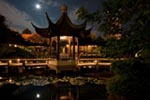 The Moon Locking Pavilion in the Lan Su Chinese Garden