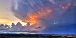 Ville Di Corsano-Sunset Storm mural
