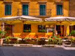 Montalcino Cafe mural