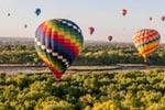 New Mexico Balloons mural