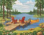 Lakeside II Brent mural