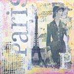 La Paris mural