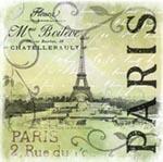 Vintage Paris 2 mural