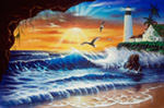 Enchanted Lighthouse mural
