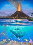 Kilauea mural