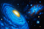 Compact Group Of Galaxies mural