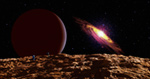 Exoplanet Pegasi 1231 mural