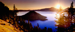 Crater Lake Oregon mural