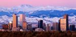 Denver Skyline mural